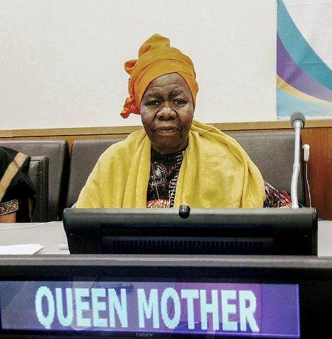 聯合國非洲女王母親 Delois Blakely博士
